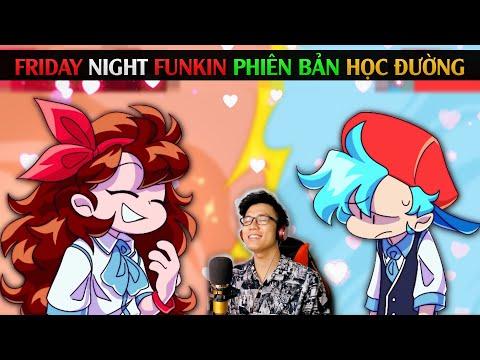 FNF PHIÊN BẢN HỌC ĐƯỜNG / Friday Night Funkin Maginage Matches / SpiderGaming 2020