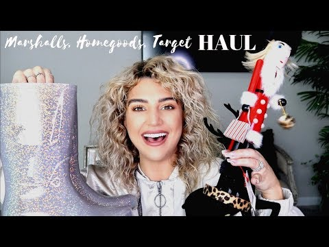 MARSHALLS, HOMEGOODS, TARGET HAUL| Shoes, makeup, fall decor- Ashleykeikollections