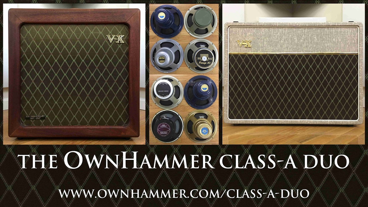 Introducing the OwnHammer 'Class-A Duo' impulse response library