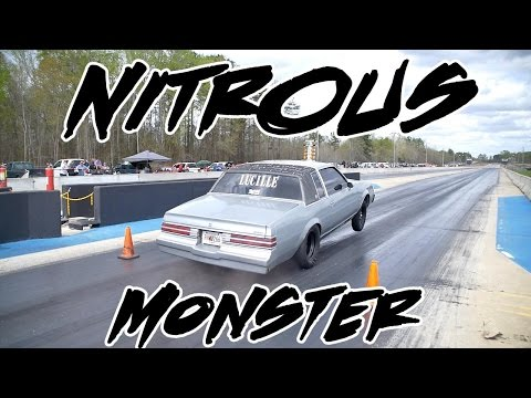 GOT NITROUS? LUCILLE SMALL BLOCK STREET CAR REGAL GETS OUT THE GATE!!