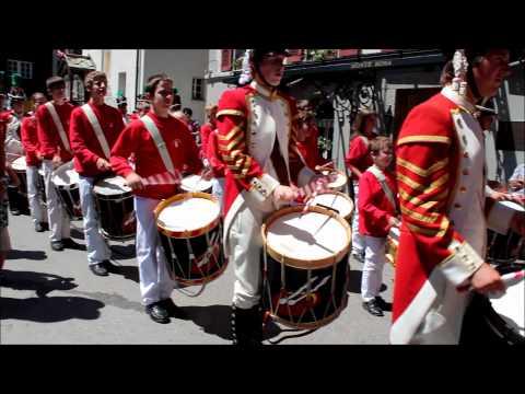 71. Oberwalliser Tambouren- und Pfeiferfest in Zermatt Teil 2