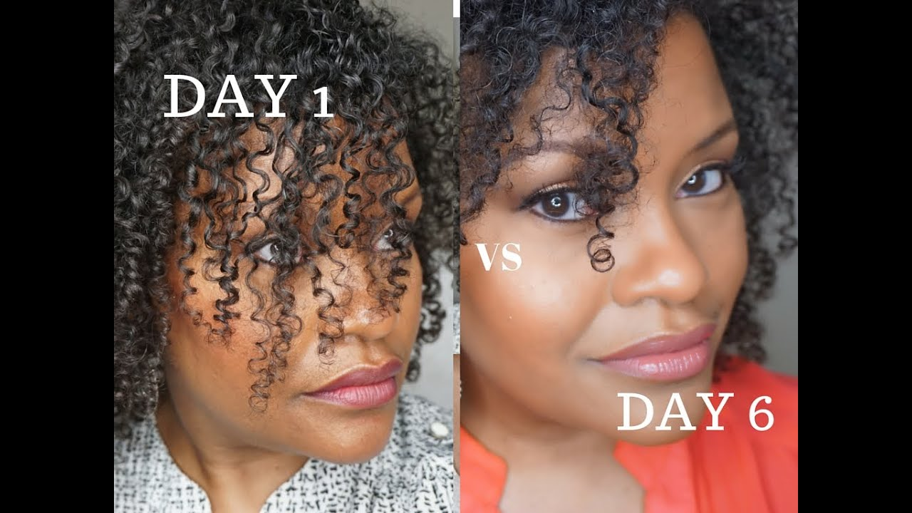Hairstyles For Short 3b Hair: Humidity Fighting Gel For Wash And Go On