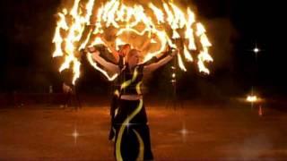 Огненное шоу для Свадьбы(Fire show for wedding). Fringe Teathre ETERE 2008