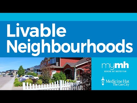 Livable Neighbourhoods