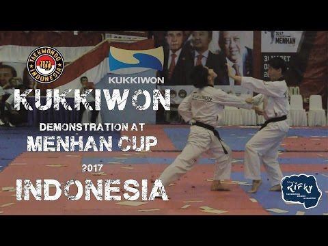 KUKKIWON Demonstration at MENHAN CUP 2017, INDONESIA. DAY 1
