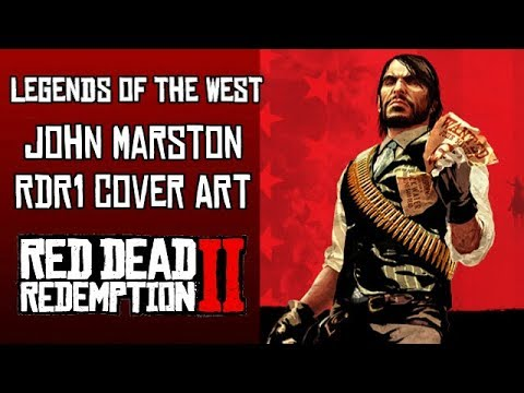 How To Make John Marston S Rdr1 Cover Art Outfit In Red Dead Redemption 2