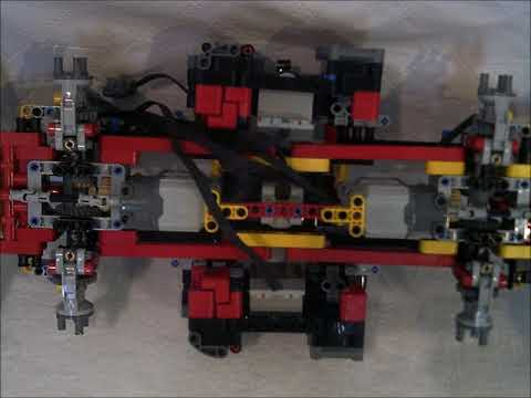 lego technic 3 teil 42082 bauanleitung f rs fahrwerk youtube. Black Bedroom Furniture Sets. Home Design Ideas