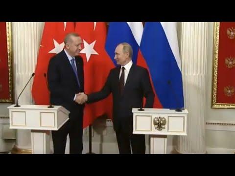 Заявление Путина и Эрдогана по итогам встречи