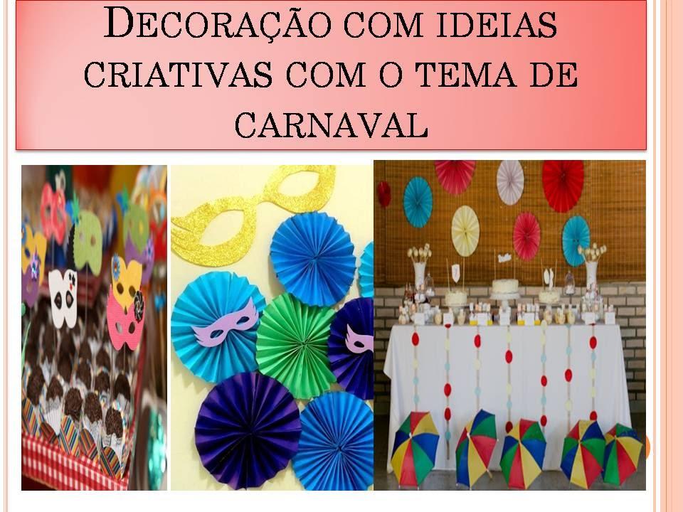 Ideias criativas para Decoraç u00e3o de festas para carnaval YouTube