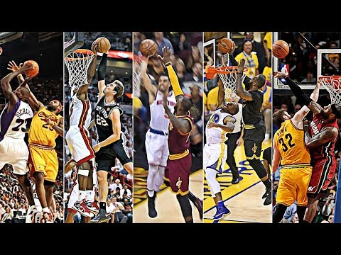 LeBron James' Best Block On Every Team In The NBA!