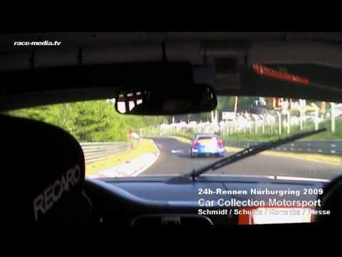 24h Nürburgring Nordschleife 2009 / Car Collection Motorsport Porsche 997 GT3 Cup Onboard 8:00am