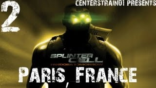 Splinter Cell - Pandora Tomorrow - Stealth Walkthrough Part 2 - Paris, France