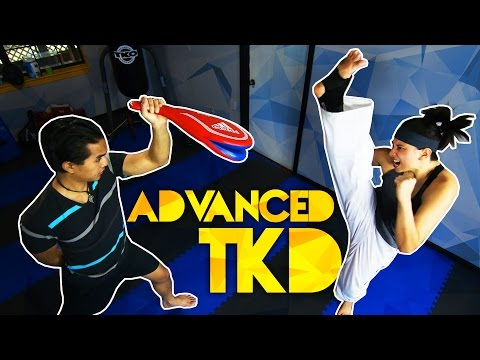 Advanced TaeKwonDo Kicking Combos for Sparring