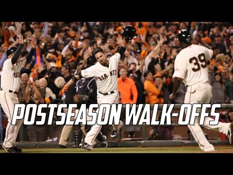 MLB | Postseason Walk-Offs (2017-2010)