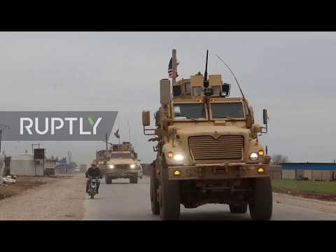 Syria: Civilian reportedly killed in confrontation between US troops and locals *UPDATE*