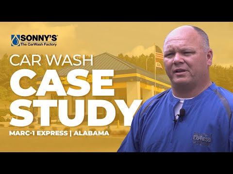 MARC-1 Express Car Wash - Sonny's The CarWash Factory Case Study