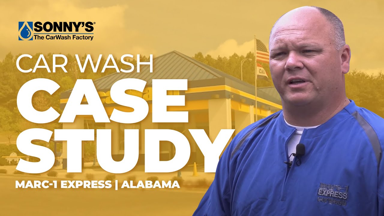 Marc 1 express car wash sonnys the carwash factory case study youtube premium solutioingenieria Images