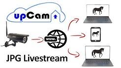 Überwachungskamera Livestream als JPG kostenlos auf Website einbinden
