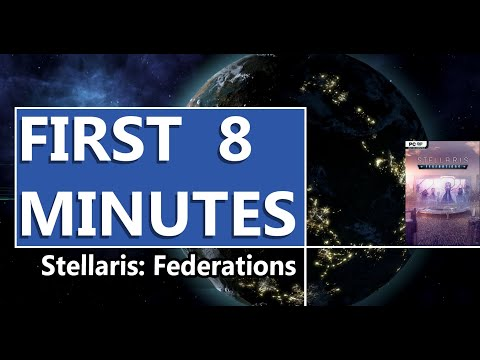 FIRST LOOK | Stellaris: Federations | HD GAMEPLAY |