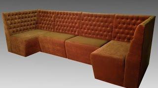 Модульный диван в кафе на заказ(, 2016-03-10T07:05:03.000Z)