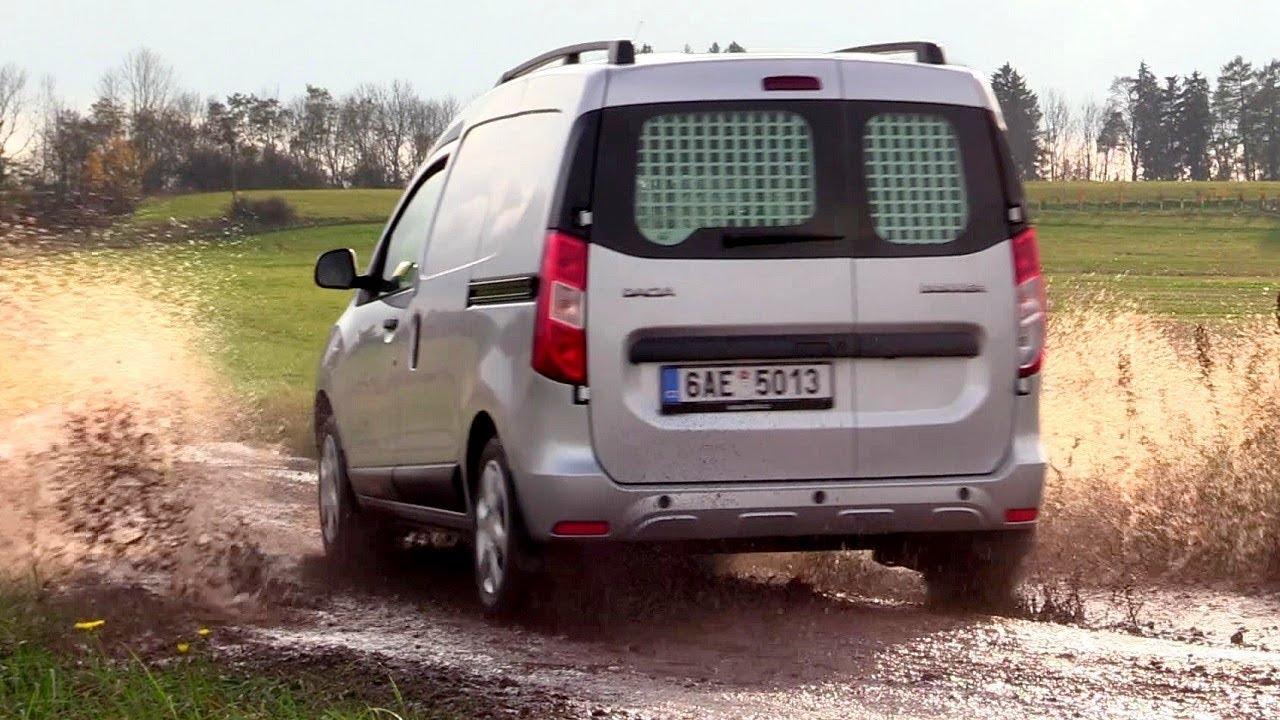 new dacia dokker van 2017 driving footage road off road