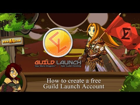 Beleen's tutorial: How to create a new free Guild Launch account and sync with AQWorlds account