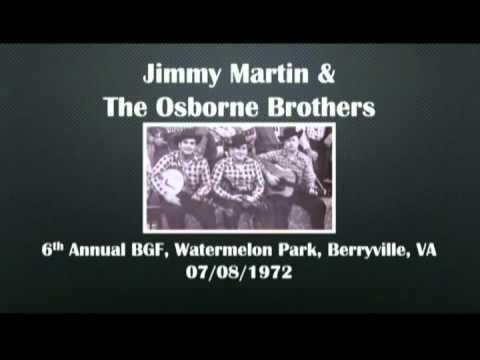 【CGUBA203】Jimmy Martin & The Osborne Brothers 07/08/1972