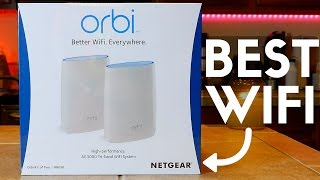 Netgear Orbi Review: Finally! The Best WiFi Router! 😍
