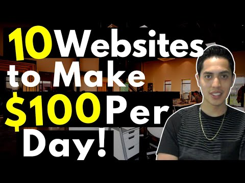 10 Website To Make $100 Per Day In 2020 | Working From Home