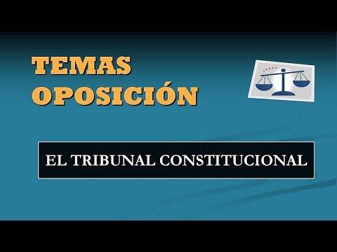 Constitución Española: El Tribunal Constitucional