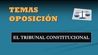 El Tribunal Constitucional 2017 Video