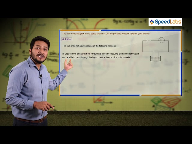 Chemical Effect of Current - Q1 - CBSE class 8th science