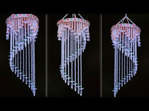 Beautiful Pearl Wind Chime idea || Amazing Pearl Chandelier || Jhumar Making