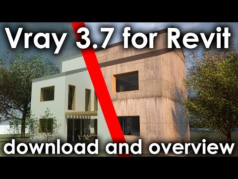 Vray 3.7 for Revit Download Overview and Tutorial