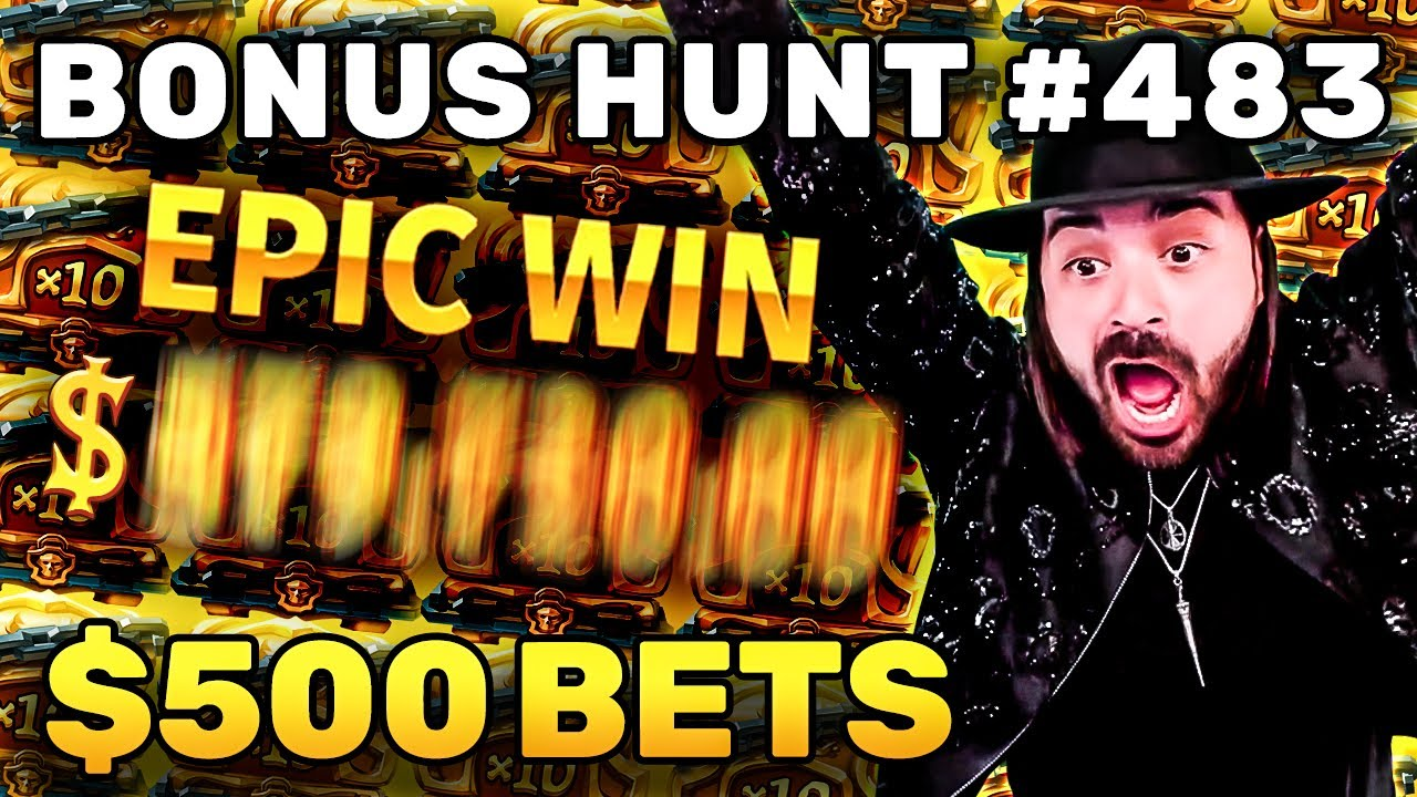 THE BIG 20 BONUSES FROM HUNT 483 | $400-500 SPIN