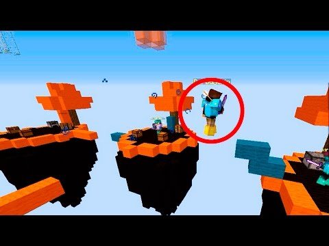 HACKER VOLADOR!! SkyWars Minecraft