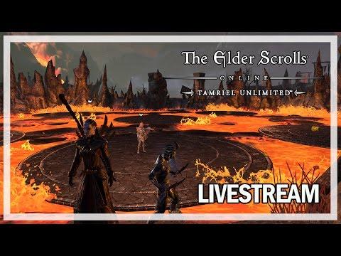 The Elder Scrolls Online Livestream - Maelstrom Arena & Dungeons