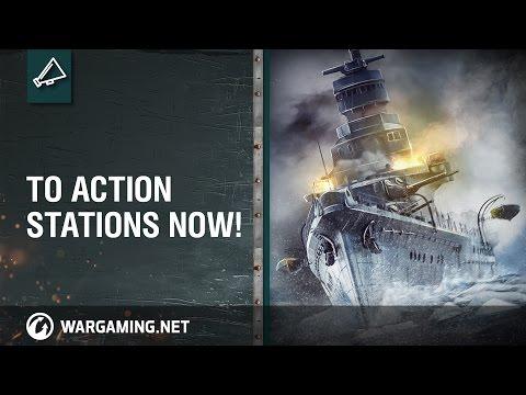 World of Warships - 2015 Closed Beta Cinematic Trailer