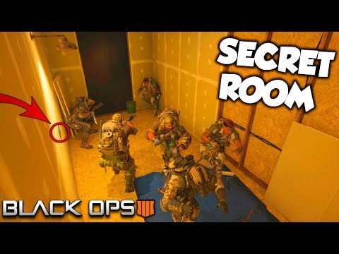The SECRET ROOM... (They Couldn't Find Us!) - Black Ops 4 Hiding Tactics