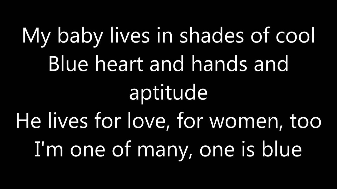 Shades Of Cool By Lana Del Rey Lyrics Youtube