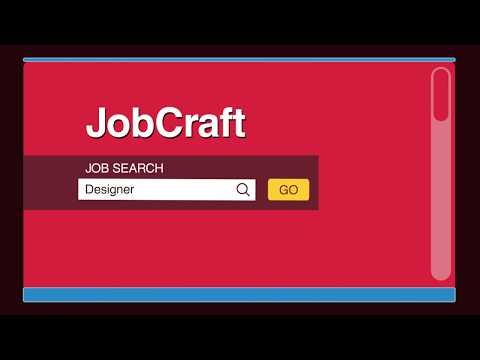 JobCraft- Local jobs for local young people