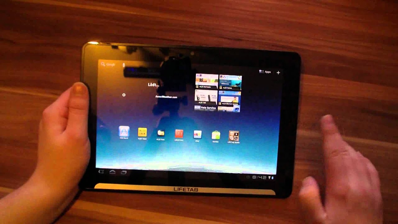 medion lifetab unboxing aldi tablet im kurztest youtube. Black Bedroom Furniture Sets. Home Design Ideas