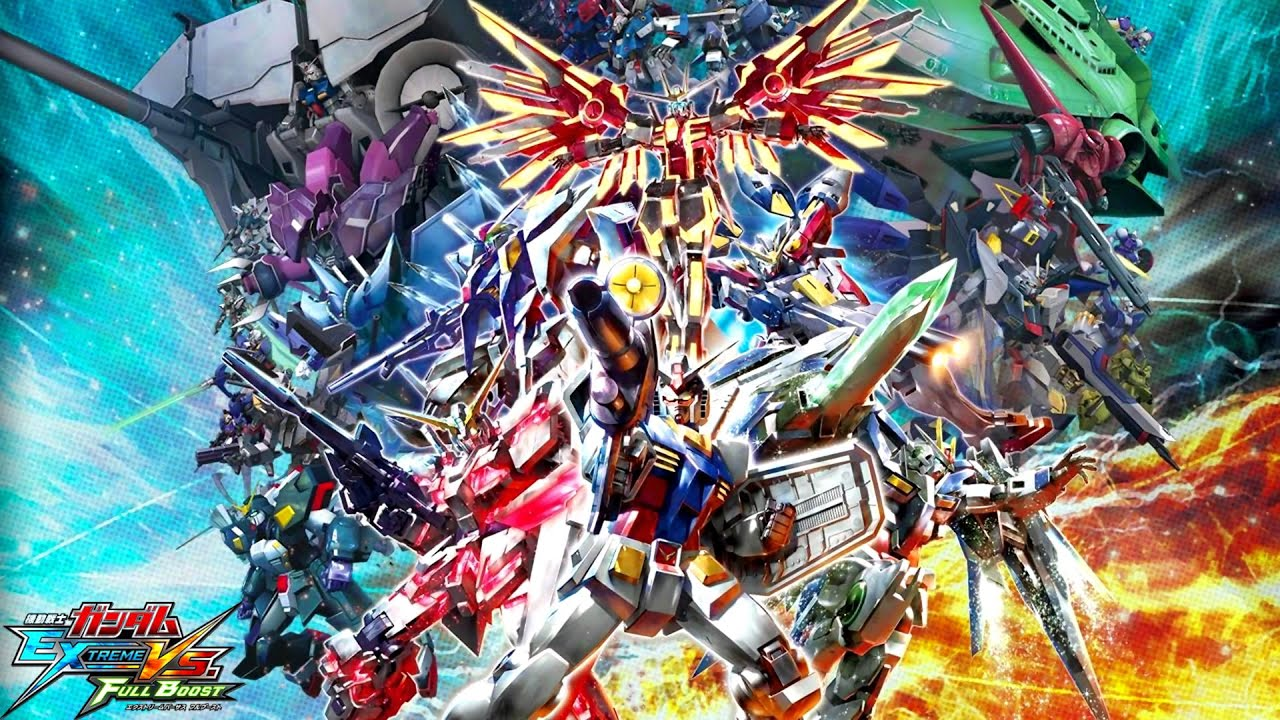 Gundam Extreme VS Full Boost - The Kick extended - YouTube