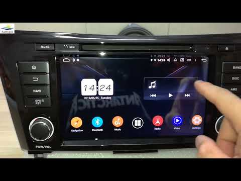 Test: Android 9 OS Aftermarket Car GPS Navigation For Nissan X-trail Qashqai(2014-2020)