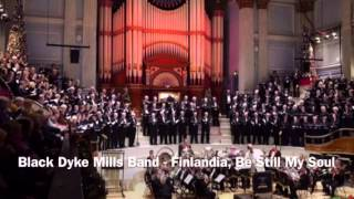 Finlandia - Be Still My Soul (Brass band, choir and organ)