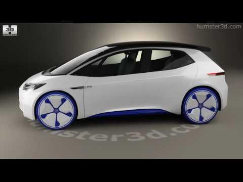 Volkswagen ID 2016 3D model by Hum3D.com