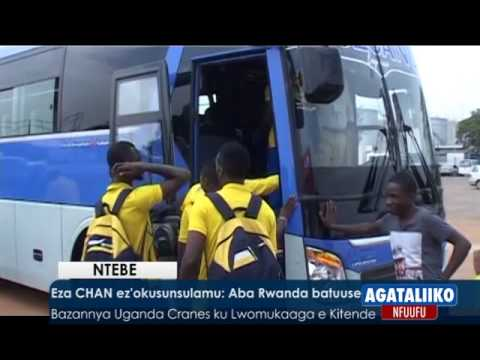 SPORTS: CHAN ez'okusunsulamu,Aba Rwanda batuuse