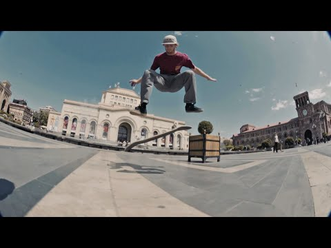 Skating The Edge Of Europe W/ Madars Apse, Barney Page & Co  |  ZIGZAGGING THE CAUCASUS Part 3
