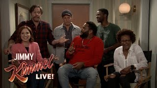 Jimmy Kimmel Chats with Cast of All in the Family & The Jeffersons