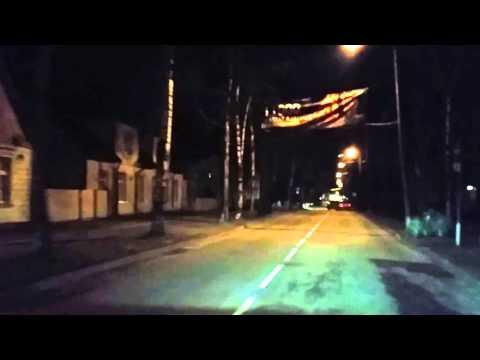 Driving in Pärnu October 2015